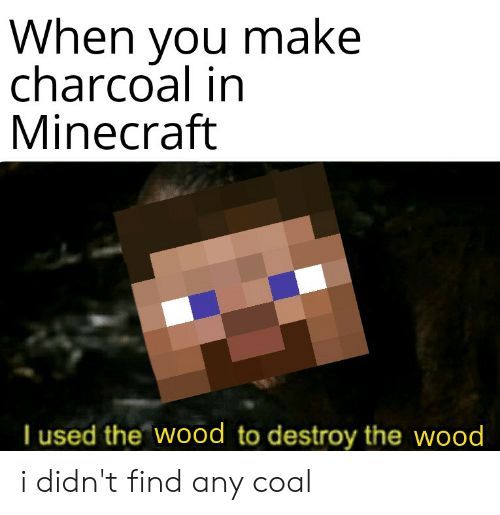 how to make charcoal on minecraft