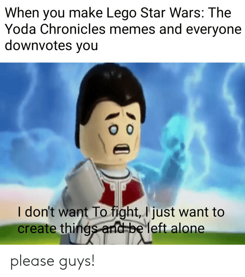 When You Make Lego Star Wars The Yoda Chronicles Memes And