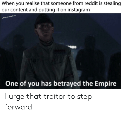 When You Realise That Someone From Reddit Is Stealing Our