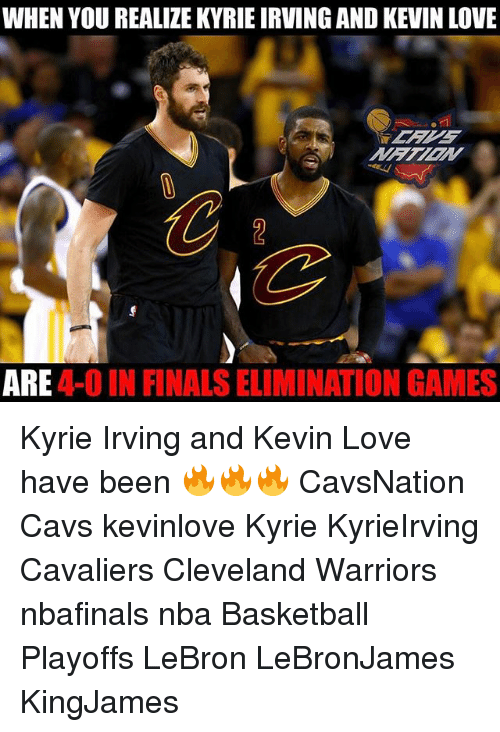aca44034163b WHEN YOU REALIZE KYRIEIRVING AND KEVIN LOVE ARE IN FINALS ...