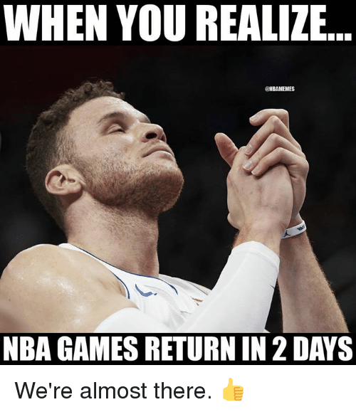 Home Market Barrel Room Trophy Room ◀ Share Related ▶ NBA Games Nba Games you when you realize when you realize were there almost almost there days next collect meme → Embed it next → WHEN YOU REALIZE NBAMEMES NBA GAMES RETURN IN 2 DAYS We're almost there 👍 Meme NBA Games Nba Games you when you realize when you realize were there almost almost there days nbamemes When NBA NBA Games Games Nba Games Nba Games you you when you realize when you realize when you when you realize realize were were there there almost almost almost there almost there days days None None When When found @ 414 likes ON 2018-02-20 23:15:25 BY me.me source: facebook view more on me.me