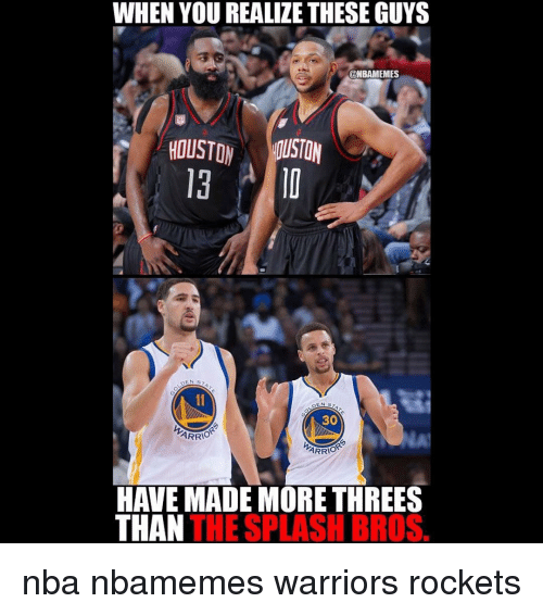 25+ Best Memes About Warriors Rockets