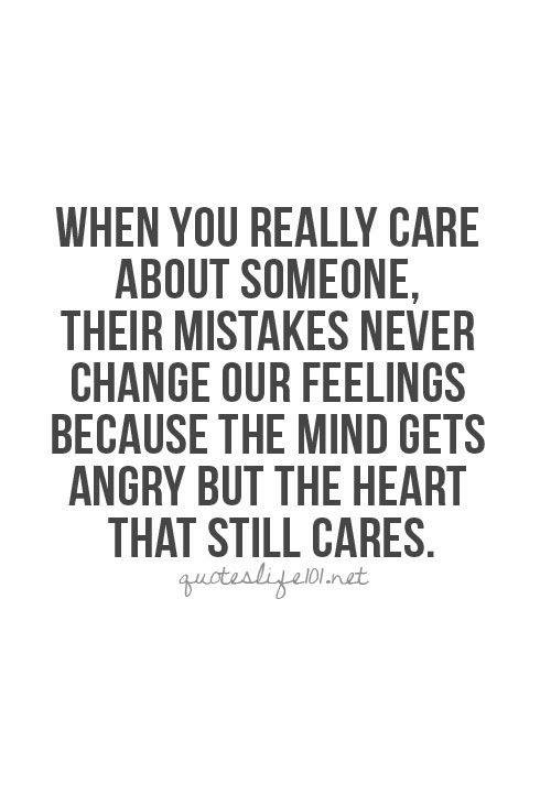 i really care about you