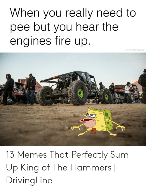 When You Really Need to Pee but You Hear the Engines Tire Up ENERGY