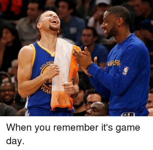 When You Remember It S Game Day Basketball Meme On Me Me