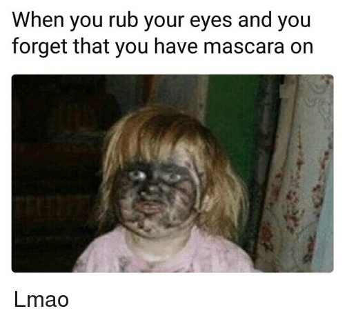 Image result for mascara funny