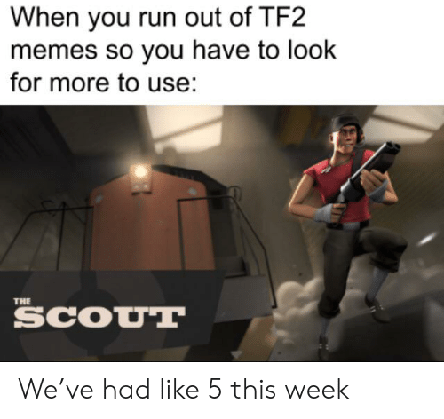 When You Run Out of TF2 Memes So You Have to Look for More to Use