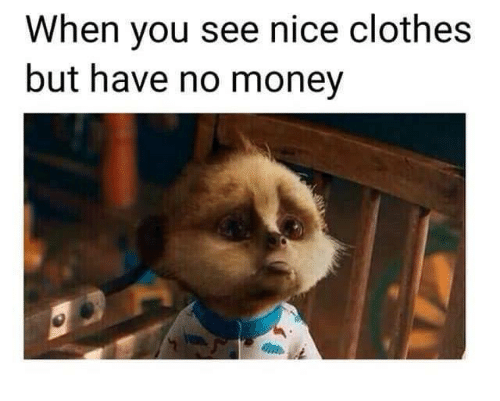 Need Clothes No Money