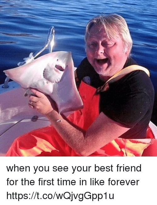 Best Friend, Best, and Forever: when you see your best friend for the first time in like forever https://t.co/wQjvgGpp1u
