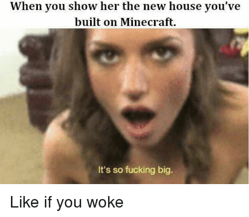 when you show her the new house youve built on 18780276 25 best meme collections memes its so fucking big memes