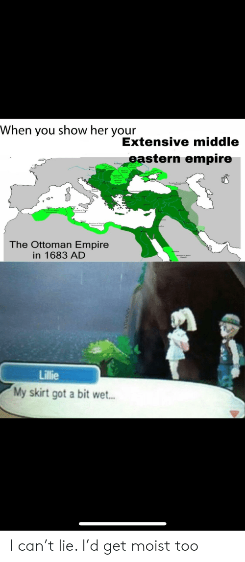 When You Show Her Your Extensive Middle Eastern Empire the Ottoman ...