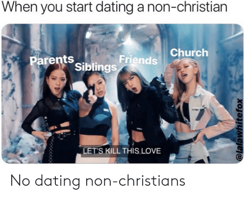 Dating non christian reddit
