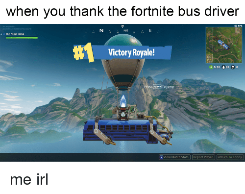 What Is The Point Of Thanking Of Bus Driver Fortnite Ajicukrik Fortnite Bus Driver