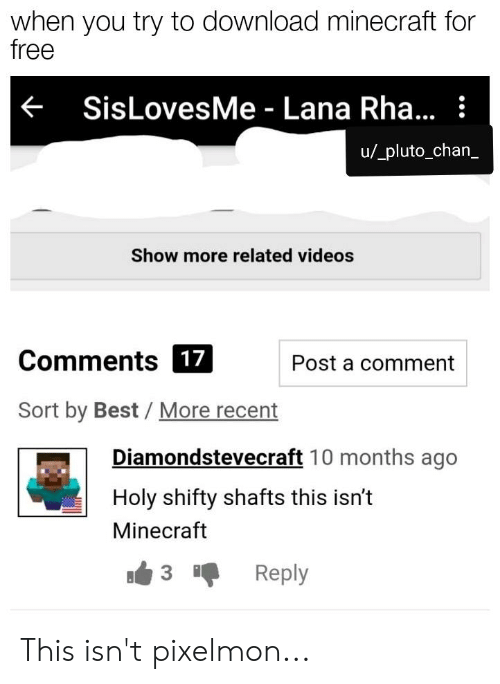 show me minecraft for free