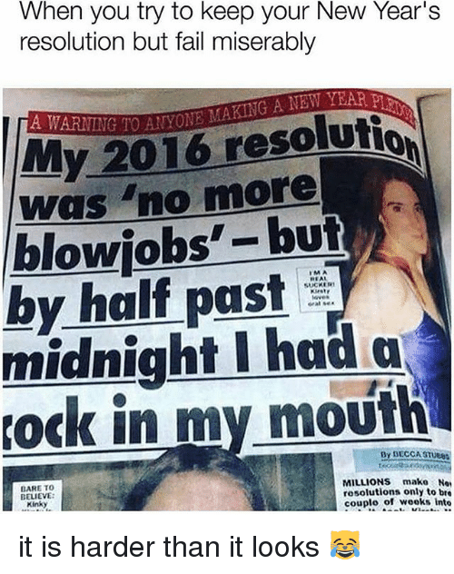 when you try to keep your new year s resolution but fail miserably