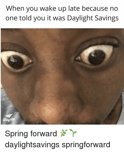 Funny Spring Forward Memes of 2017 on me.me   Springly
