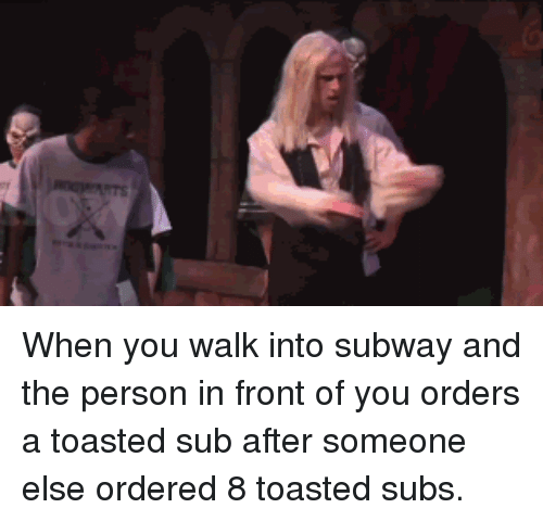 Subway, Reactiongifs, and You