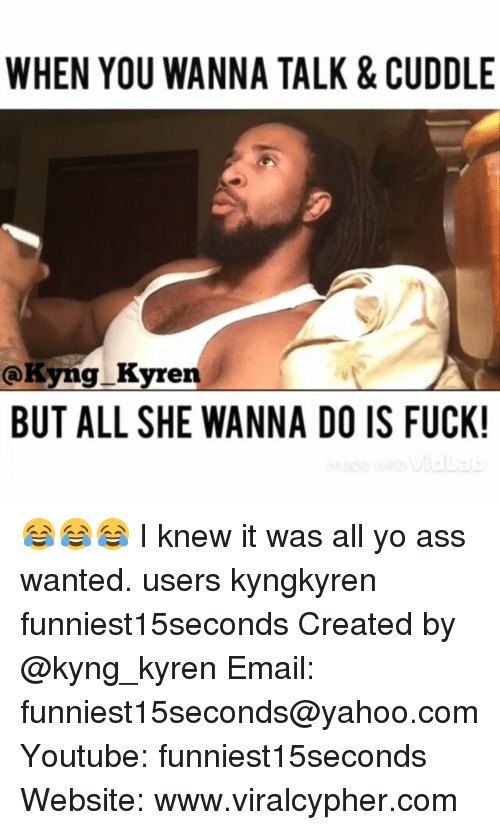 Does she want to fuck