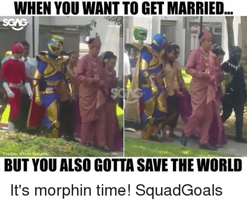 25+ Best Its Morphin Time Memes