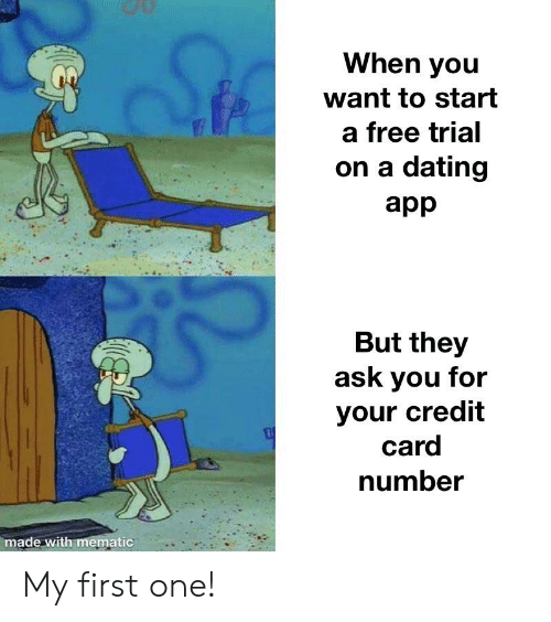 Dating apps free trial