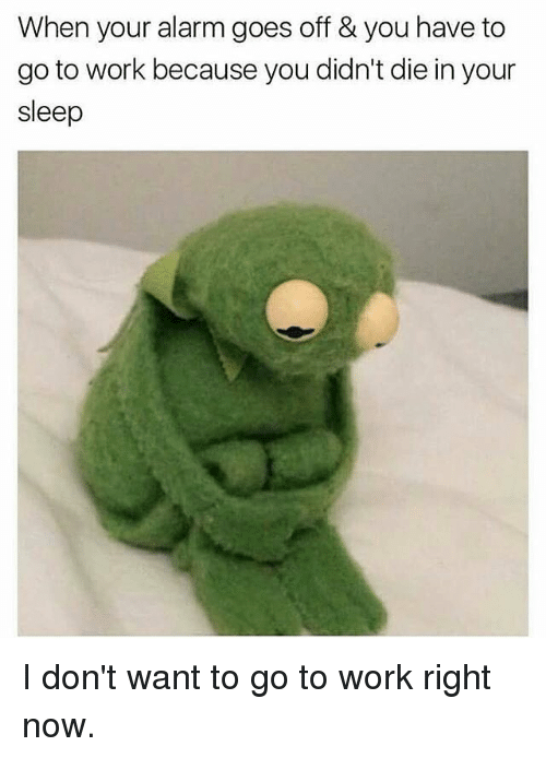 25 Best Memes About I Dont Want To Go To Work I Dont