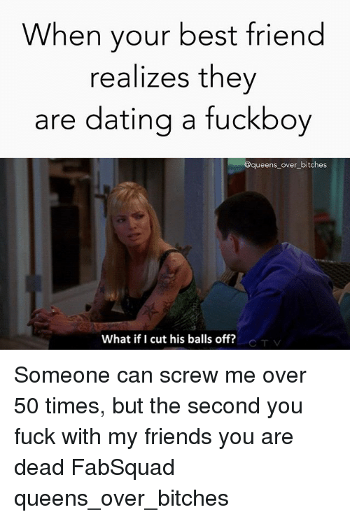 dating someone on and off