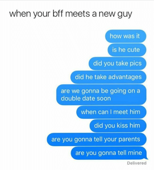 A When Date A On To Kiss Guy