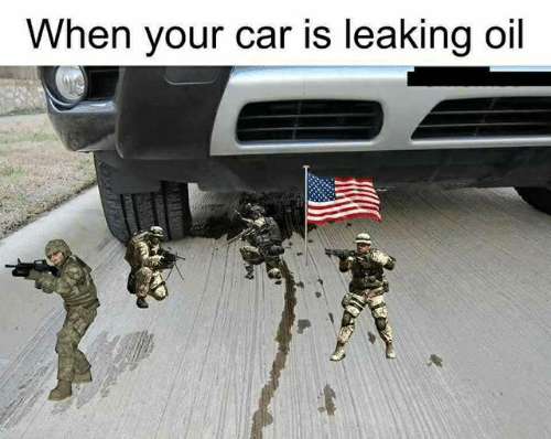 Car Leaking Oil >> When Your Car Is Leaking Oil Car Meme On Me Me