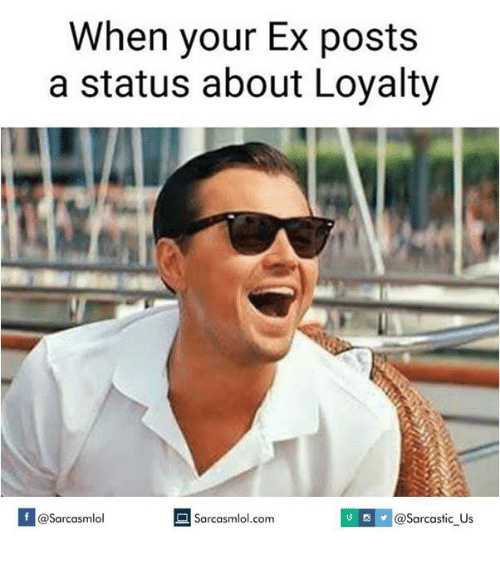 Status for your ex