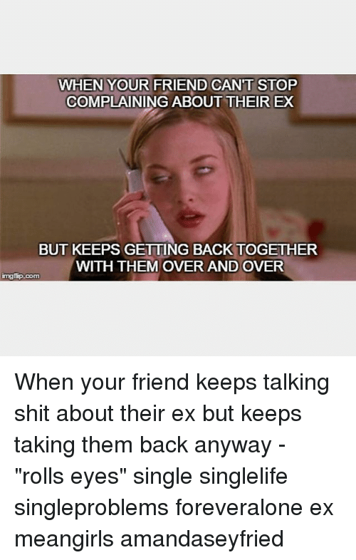 How often do people get back with their ex
