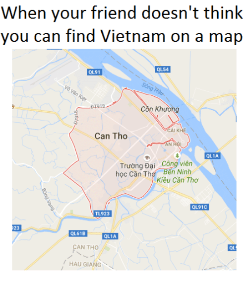 When Your Friend Doesn\'t Think You Can Find Vietnam on a Map QL54 ...