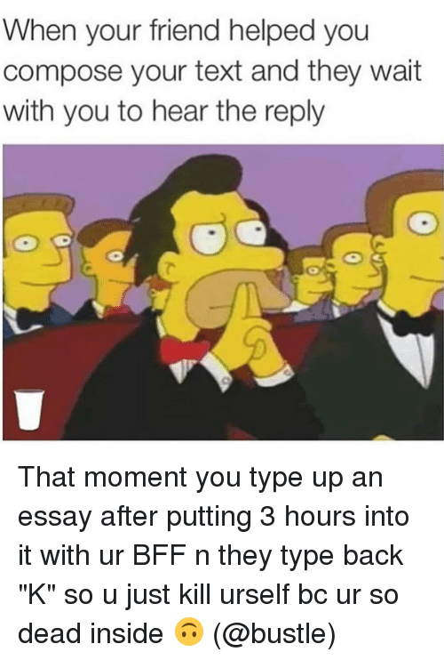 an hour to kill essay If you're wondering how to write an essay in an hour, bear in mind that you need   for example, if you write an essay based the novel 'to kill a.