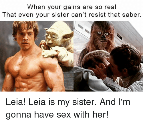 Sex with your sister