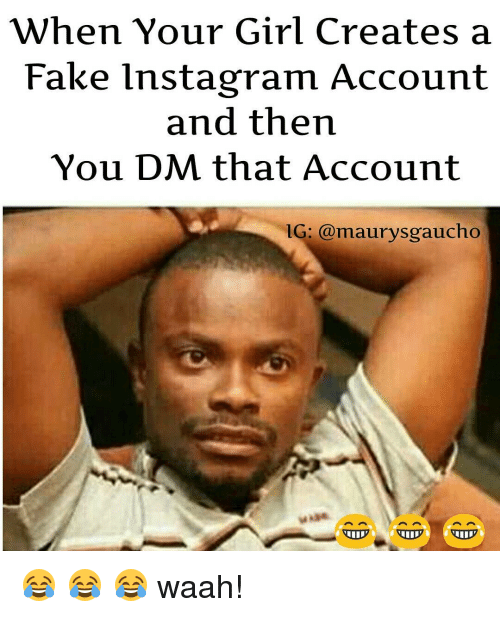 Create a fake instagram account