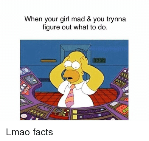 what to do when your mad