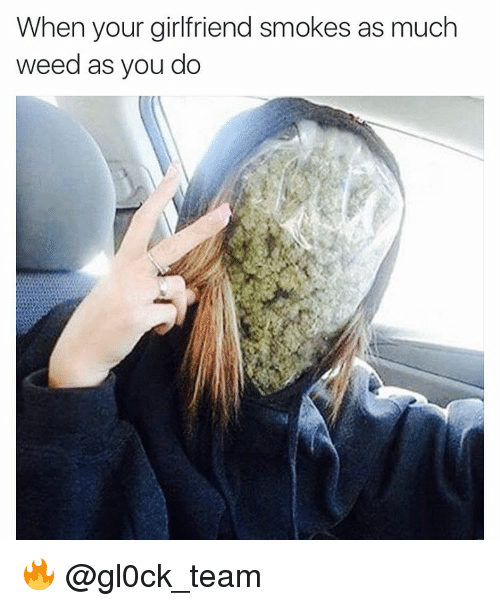 smoking weed with your girlfriend