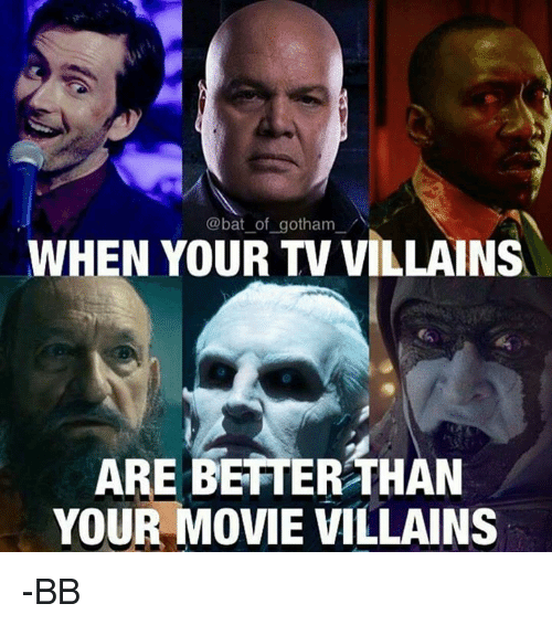 when your gotham villains tv are better than your movie 5359623 ✅ 25 best memes about gotham gotham memes