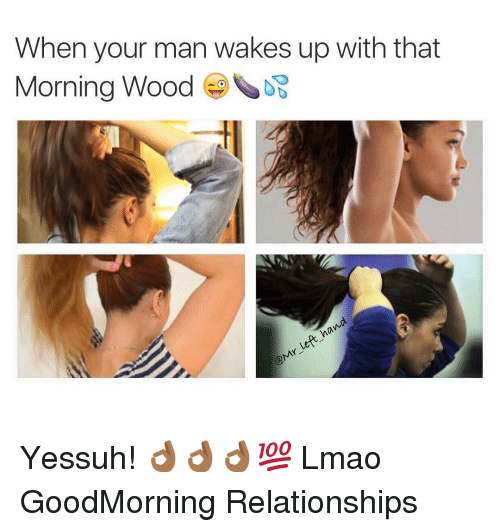 Why do boys get morning wood