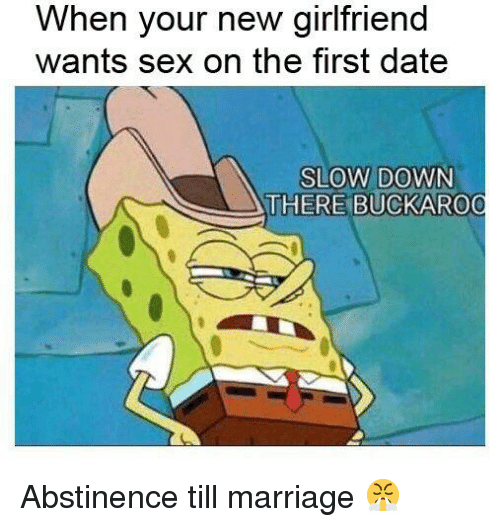 First date sex marriage