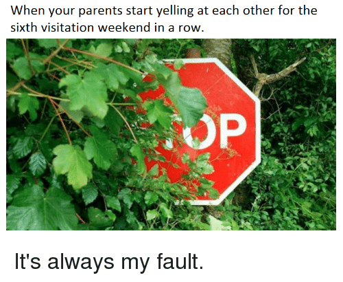 Its Always My Fault