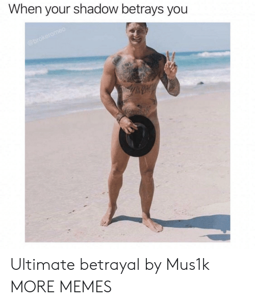 Dank, Memes, and Target: When your shadow betrays you Ultimate betrayal by Mus1k MORE MEMES
