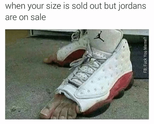 8c1e7d0e1c5c When Your Size Is Sold Out but Jordans Are on Sale