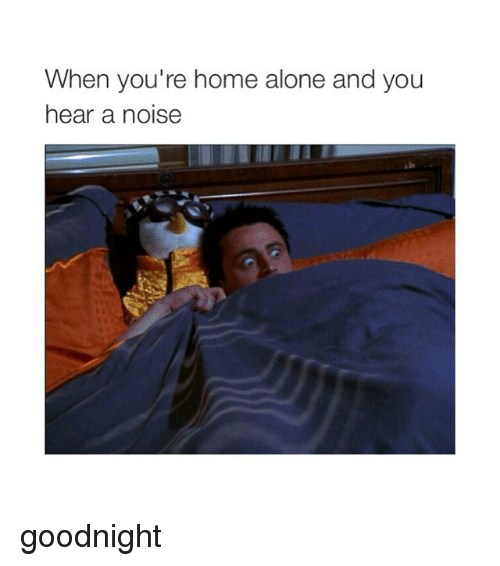 When Youre Home Alone