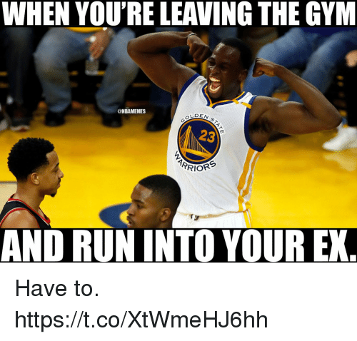 Gym Memes And Run When Youre Leaving The Gym Nbamemes
