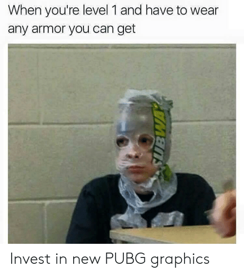 When You're Level 1 and Have to Wear Any Armor You Can Get Invest in