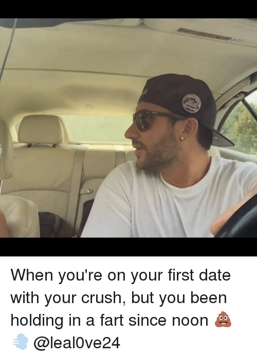 In the car with your crush is dating