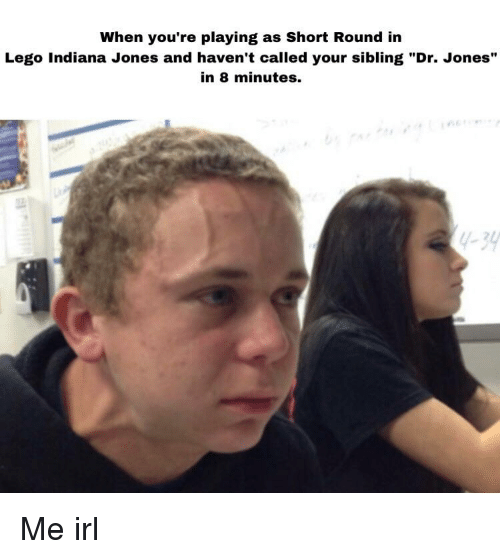 When Youre Playing As Short Round In Lego Indiana Jones And Havent