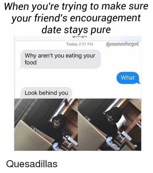 Dating encouragement