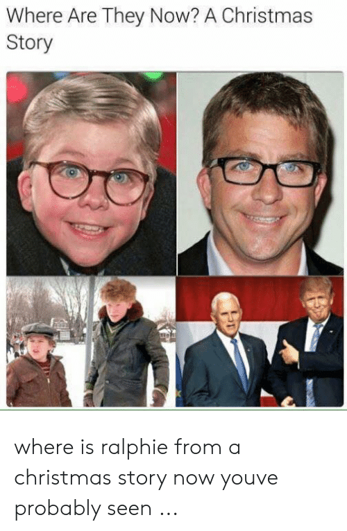 Ralphie Christmas Story Now.Where Are They Now A Christmas Story Where Is Ralphie From