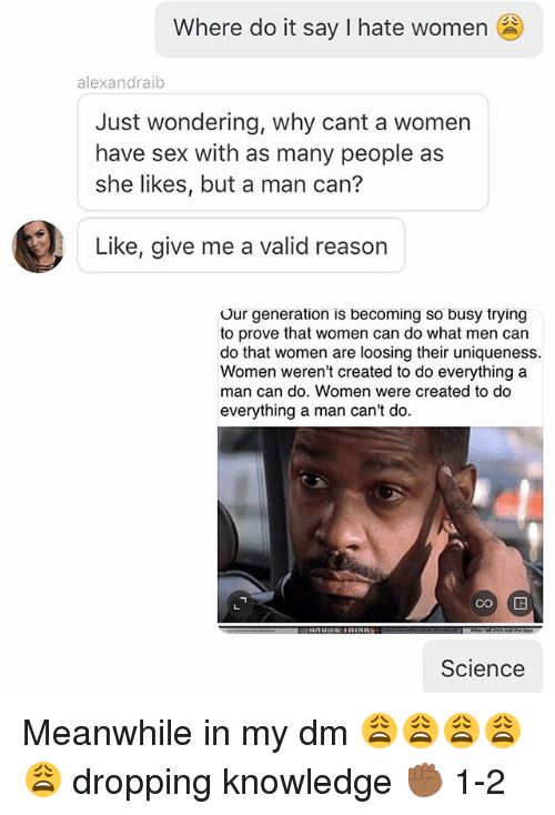 Women who cant have sex